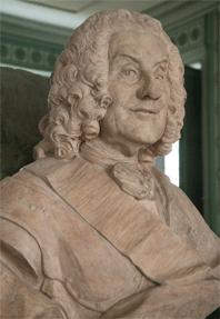 Бюст Жана Флорана де Вальера, генерального инспектора артиллерии (1667-1759) - Buste de Jean Florent de Vallière, Inspecteur général de l'Artillerie (1667-1759), par Jean-Baptiste II Lemoyne