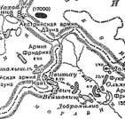 Карта военных действий вокруг Ольмюца весной 1758 г. - Olmuz. Map of operations spring 1758