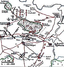 План сражения при Гросс