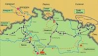 Начало компании 1757 г. в Богемии