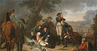 Смерть графа Шверина - The Death of Field Marshal von Schwerin at the Battle of Prague, 6th May 1757
