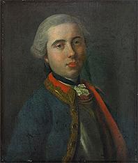 Портрет офицера Лейб-гвардии Конного полка. 1750-е.