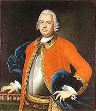 Портрет майора артиллерии в отставке Алексея Михайловича Рязанова. 1751–1753 гг. М.Л. Колокольников.